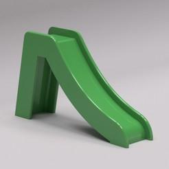 3D print model Slide / Slide for toys like playmobil, alexboudet
