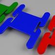 3D printer files knitting bobbin / bobines à knitting pour la laine, alexboudet