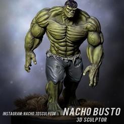 Modèle 3D Modèle d'impression 3D Hulk, Ignacioabusto
