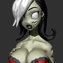 Télécharger plan imprimante 3D Zombie Tramp - Modèle imprimé 3d, Ignacioabusto