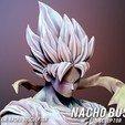 Descargar modelos 3D Goku Dragon ball z 3d print, Ignacioabusto