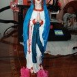 Download free OBJ file Virgin Mary • Model to 3D print, manuadra35