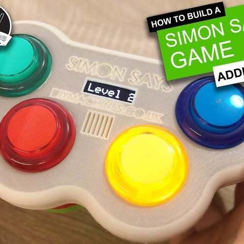 Download free 3D printer model Simon Says Game - 3D