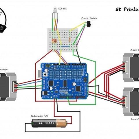 3d326b88557a7c0d4c3470936f25dd7f_display_large.jpg Télécharger fichier STL gratuit Barman robotique • Plan à imprimer en 3D, DIYMachines