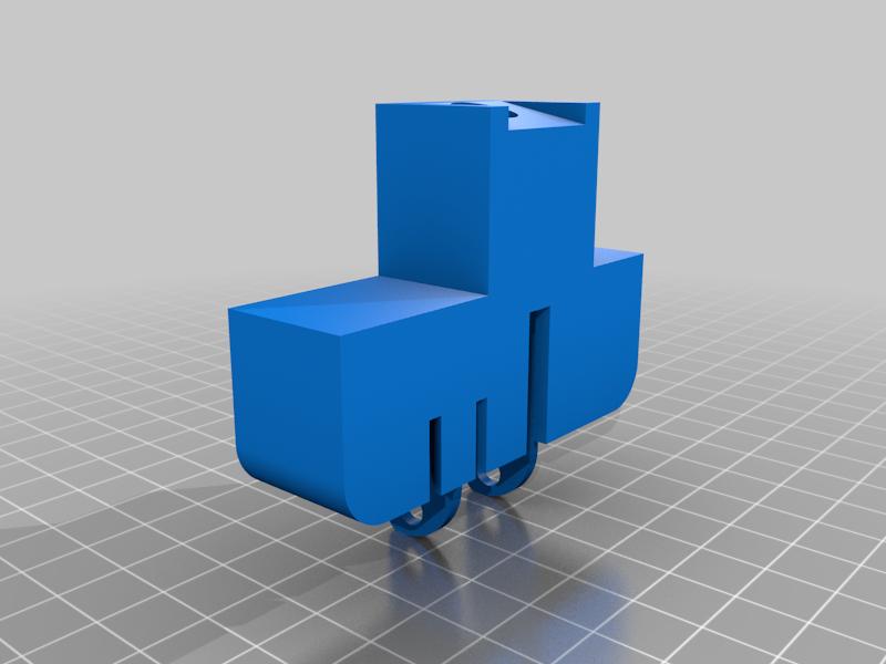 Y-Pen-End.png Télécharger fichier STL gratuit Machine à dessiner CNC facile à imprimer en 3D - Dessinez sur des gâteaux, des téléphones, du papier, des chemises   Traceur Arduino GRBL • Modèle pour imprimante 3D, DIYMachines