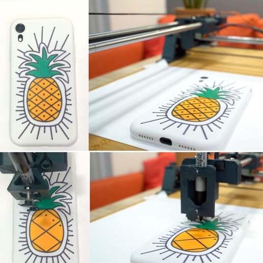 1ACF8D34-076A-4165-AE4C-DF714FFE560E.JPG Télécharger fichier STL gratuit Machine à dessiner CNC facile à imprimer en 3D - Dessinez sur des gâteaux, des téléphones, du papier, des chemises   Traceur Arduino GRBL • Modèle pour imprimante 3D, DIYMachines