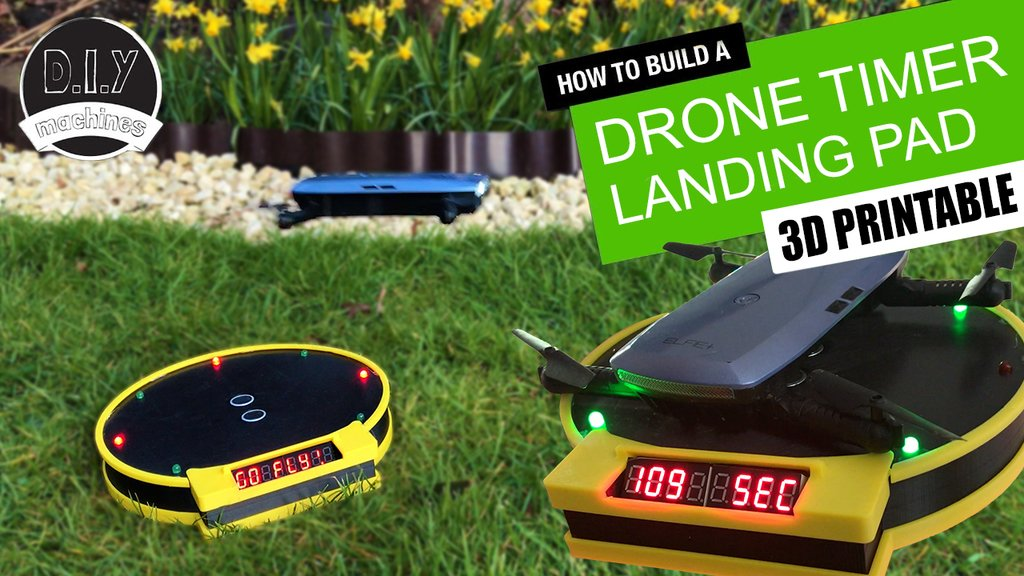 e8559c05ff3dceaa7c13f7526a834211_display_large.jpg Download free STL file Drone Landing Pad with Arduino Timing System • 3D printer model, DIYMachines