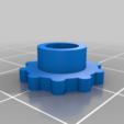 FingerDial.png Télécharger fichier STL gratuit Machine à dessiner CNC facile à imprimer en 3D - Dessinez sur des gâteaux, des téléphones, du papier, des chemises   Traceur Arduino GRBL • Modèle pour imprimante 3D, DIYMachines