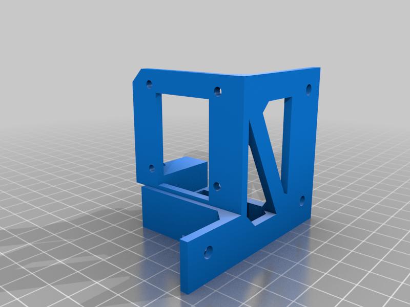 BaseEnd-Powered.png Télécharger fichier STL gratuit Machine à dessiner CNC facile à imprimer en 3D - Dessinez sur des gâteaux, des téléphones, du papier, des chemises   Traceur Arduino GRBL • Modèle pour imprimante 3D, DIYMachines