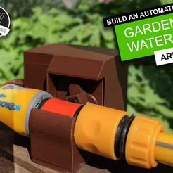Descargar diseños 3D gratis Regadera de jardín Arduino DIY, DIYMachines