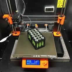 18650_12V_battery.jpg Télécharger fichier STL 18650 Boîtier de batterie 12v • Objet pour impression 3D, dennisdierckx