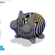 Download 3D printer templates MiniRhino and MiniRhino Bank, MarcoMota3DPrints
