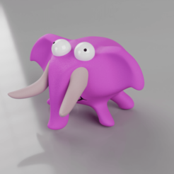 Download 3D printing templates MiniElephant, MarcoMota3DPrints