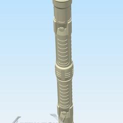 Doubleblade.jpg Télécharger fichier STL Sabre laser à deux pales (fan art) • Objet à imprimer en 3D, AscensionX