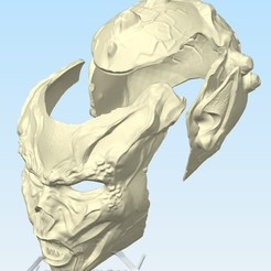 Download 3D printing designs Yuuzhan Vong full-mask (Fan Art), AscensionX