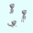 Download 3D printer designs Pose Planter Pack 1, jesercm