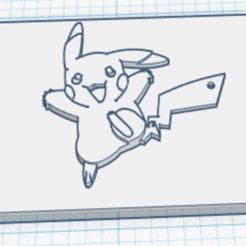 Impresiones 3D gratis Plato Pokemon de Pikachu, estebanhamelin50