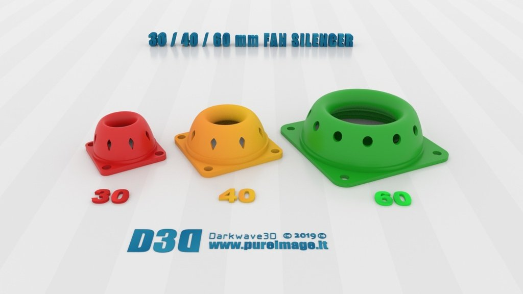 6c1172874dd8fe8f911da58468382f7b_display_large.jpg Download free STL file 30-40-60MM FAN SILENCER LP • 3D printing design, darkwave3d