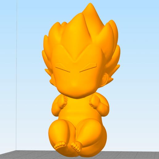 Télécharger fichier OBJ gratuit Vegeta bebe bébé • Design imprimable en 3D, Manuela95
