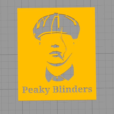 Download free 3D printing files Peaky Blinders Logo, Manuela95