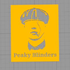 Descargar modelos 3D gratis Peaky Blinders Logo, Manuela95