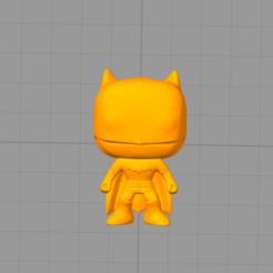 Imprimir en 3D gratis Funko Batman, Manuela95