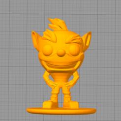 Télécharger fichier impression 3D gratuit Funko Crash Bandicoot, Manuela95