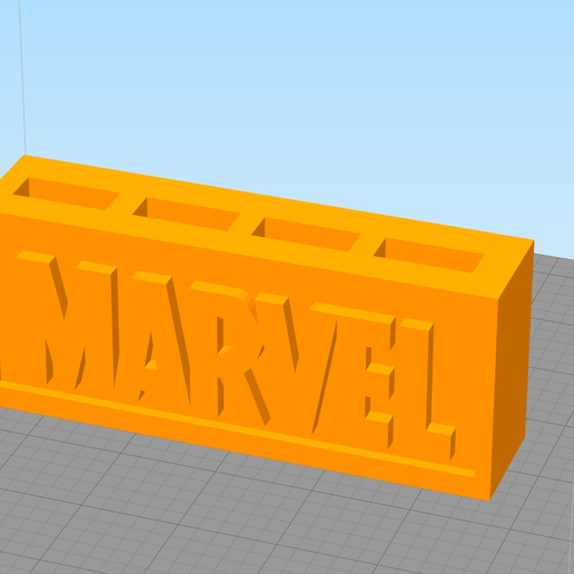 Download free 3D printing designs Marvel USB's, Manuela95