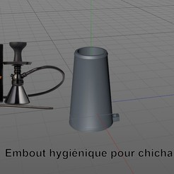 Download free 3MF file Hygienic chicha tip FREE • 3D printable model, chacharoc