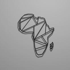 afrique.JPG Télécharger fichier STL Afrique Géométrique  • Modèle imprimable en 3D, chacharoc