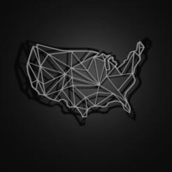 amn.JPG Télécharger fichier 3MF États-Unis Géométrique art • Modèle pour impression 3D, chacharoc
