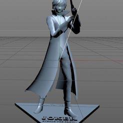 Capture joker.JPG Télécharger fichier STL Joker Super Smash Bros Ultimate • Modèle pour imprimante 3D, chacharoc