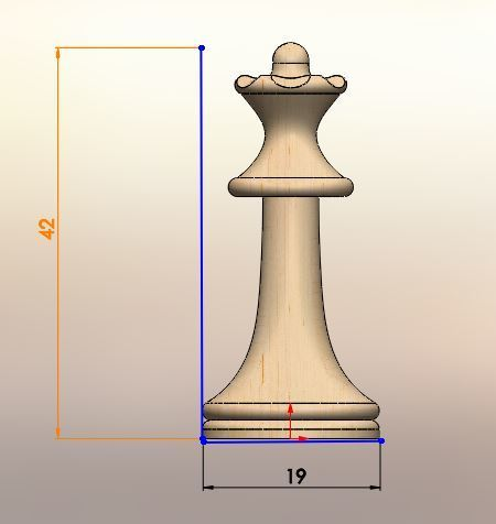 051.JPG Download STL file Classical chess • 3D printing object, LuisCrown