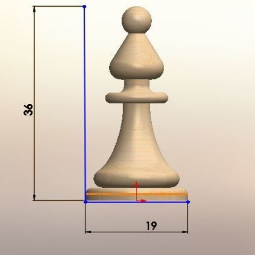 031.JPG Download STL file Classical chess • 3D printing object, LuisCrown