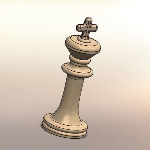 06.JPG Download STL file Classical chess • 3D printing object, LuisCrown