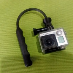 Download 3D print files Gopro stabilizer and/or action camera, LuisCrown
