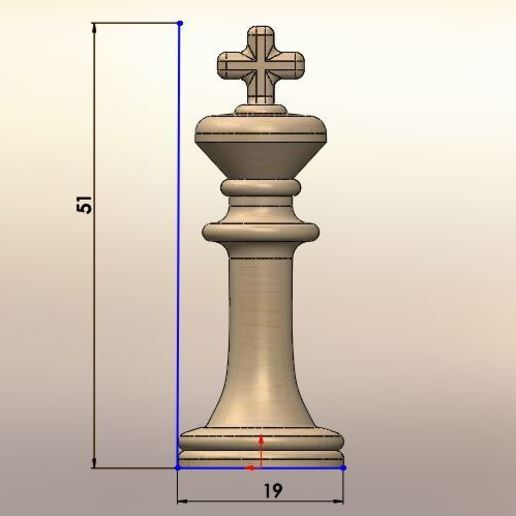 061.JPG Download STL file Classical chess • 3D printing object, LuisCrown