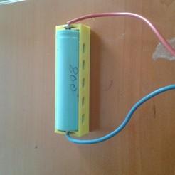 20190509_114533.jpg Télécharger fichier STL 18650 boîtier de batterie • Modèle à imprimer en 3D, arpmurat
