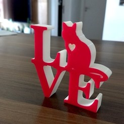 Download 3D printer files Love Cat, happens
