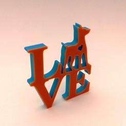 Fichier 3D Love Pinscher, happens