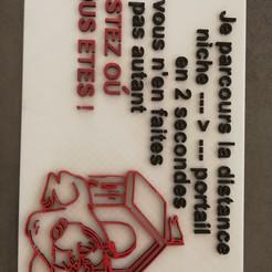 Free 3D printer model bad dog sign, dsalagnat