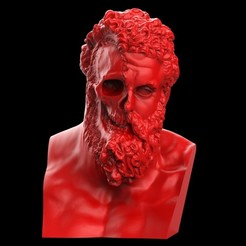 untitled.4.jpg Télécharger fichier OBJ Le visage d'Hercule déchiré • Design pour imprimante 3D, brkhy