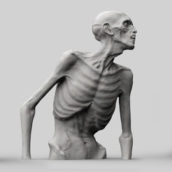 Download 3D printing designs Zombie Half Body, brkhy