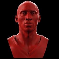 Download OBJ file Kobe Bryant Bust • 3D printing design, brkhy