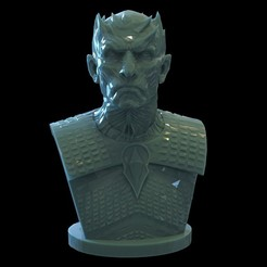 unti9tle9d.29398.jpg Download OBJ file Night King Polygonal • 3D printing template, brkhy