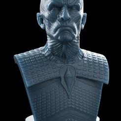 Download OBJ file Night King Bust v2- Game of Thrones 3D print model • Design to 3D print, brkhy