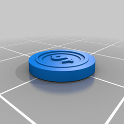 Coin_10mm.png Download free STL file Coin • 3D printable template, dreddington