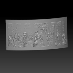 Download 3D printing templates 3 x lithography 3d marvel, mefedef