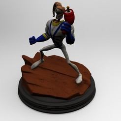 untitled.15.jpg Download STL file Earthworm Jim 25th Anniversary • 3D print template, mefedef
