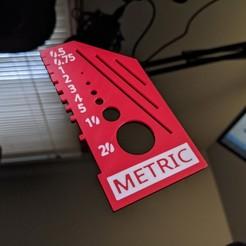 Télécharger fichier STL gratuit Outil de référence métrique (mise à jour multicolore) • Design à imprimer en 3D, _Icarus